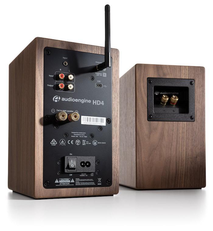 Audioengine HD4 Wireless Speakers Rear