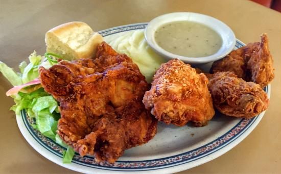 The Fried Chicken Plate