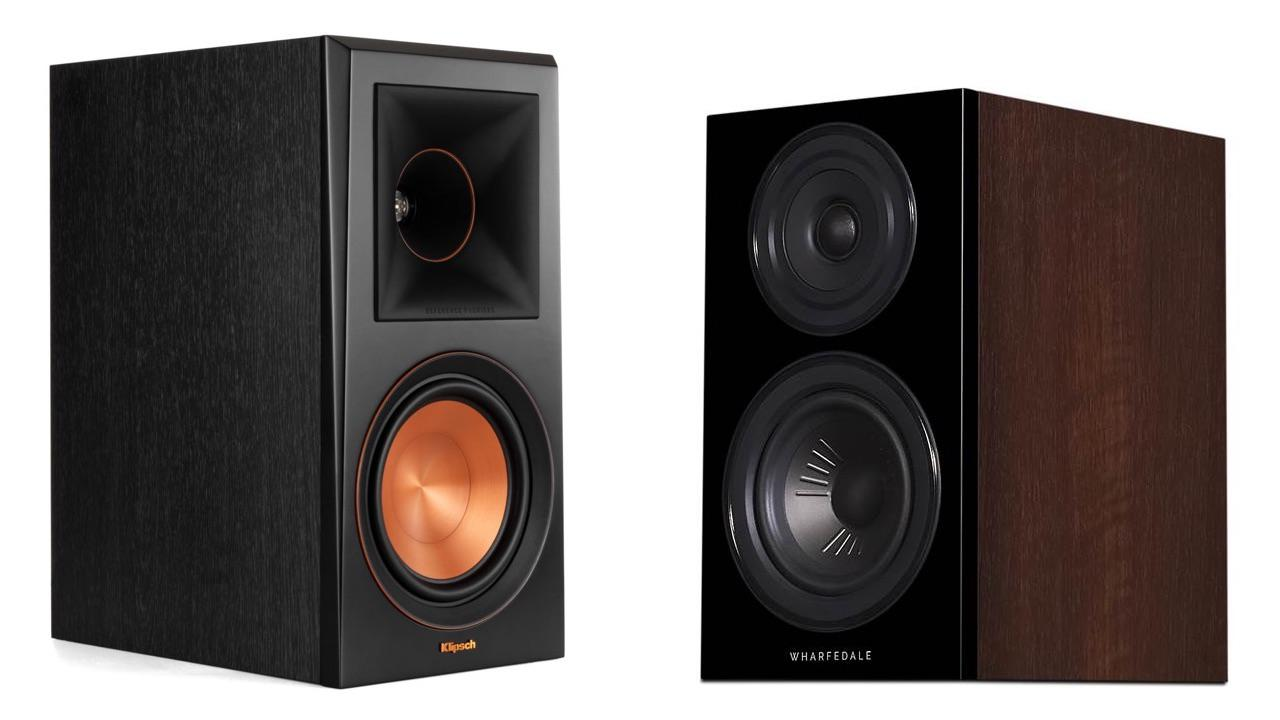 Klipsch RP-600 and Wharfedale Diamond 12.1 Bookshelf Speakers