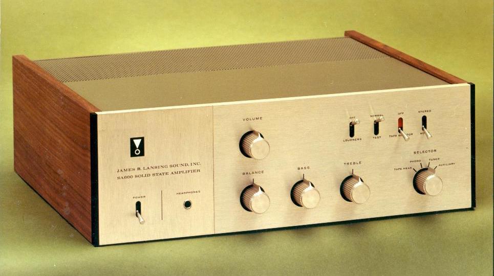 JBL SA600 Integrated Amplifier