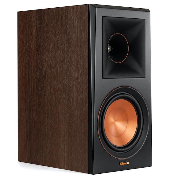 Klipsch RP-600M Bookshelf Speaker in Walnut