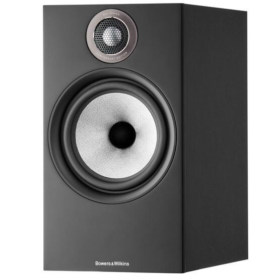 Bowers & Wilkins 606 S2 Anniversary Edition Bookshelf Speaker in Matte Black