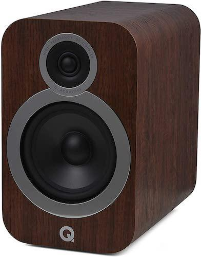 Q Acoustics 3030i Bookshelf Speaker in Walnut