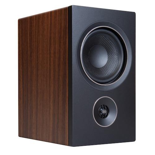 PSB Alpha P5 Bookshelf Speaker in Walnut