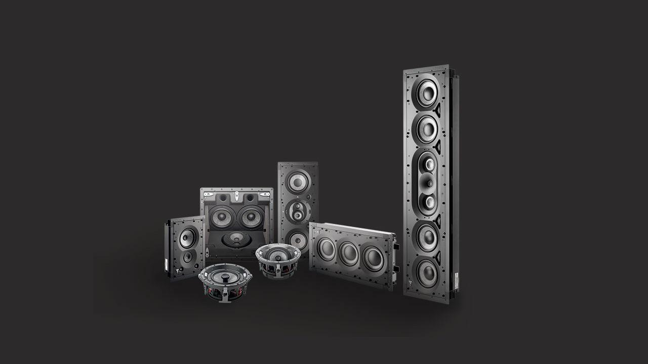 Focal 1000 Series in-wall and in-ceiling speakers and subwoofer