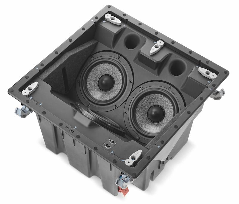 Focal 1000 Series ICLCR5 in-ceiling speakers angle