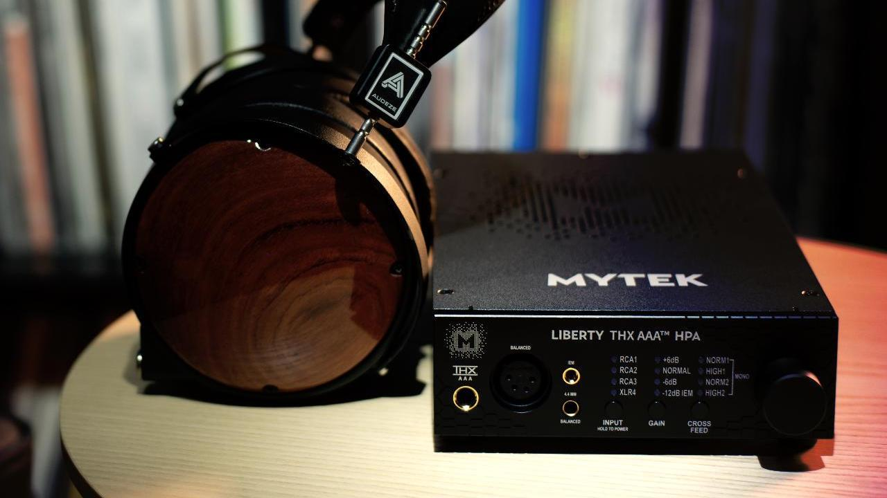 Mytec Audio Liberty THX AAA Headphone Amplifier with Audeze Headphones