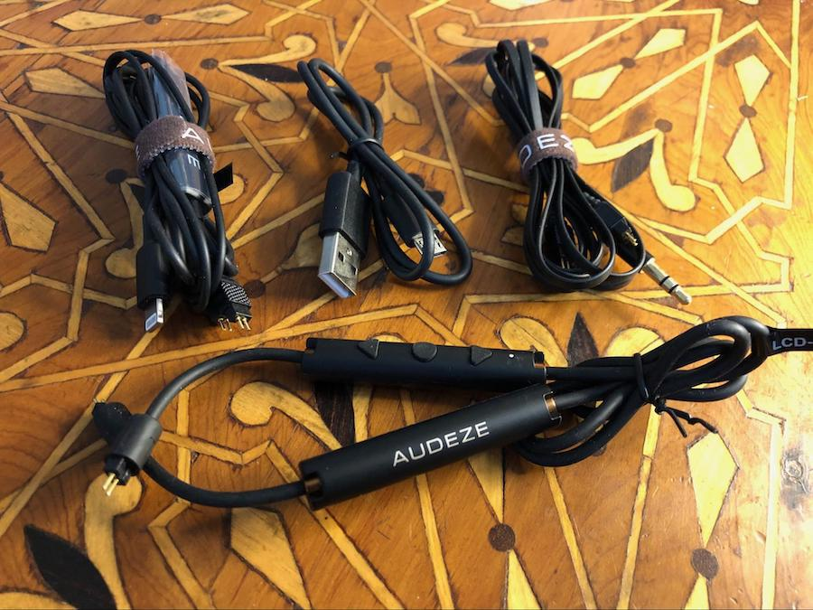 Audeze LCDi3 In-ear Headphone Cables