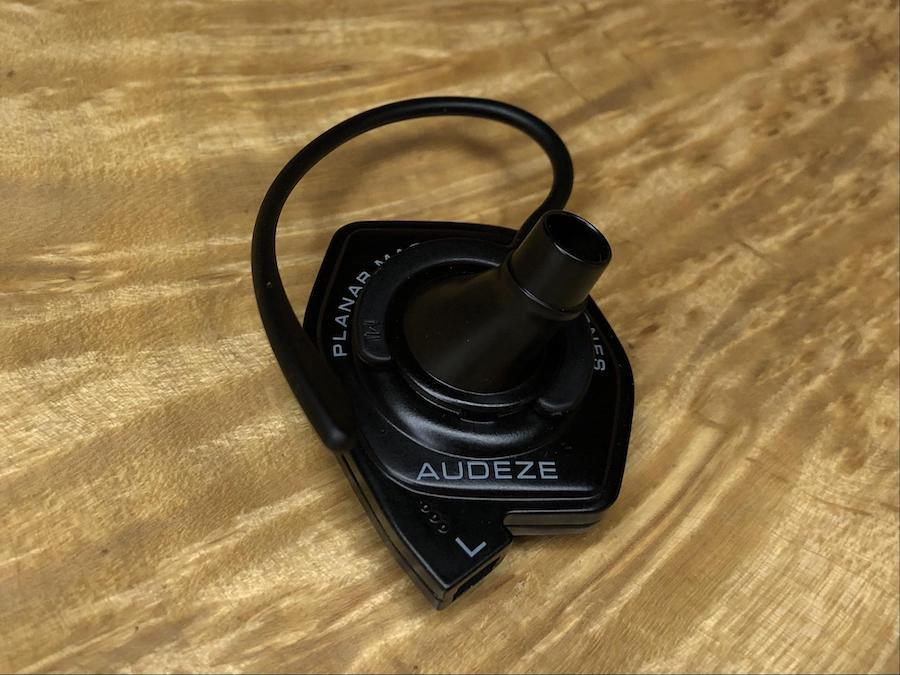 Audeze LCDi3 In-ear Headphones inner view