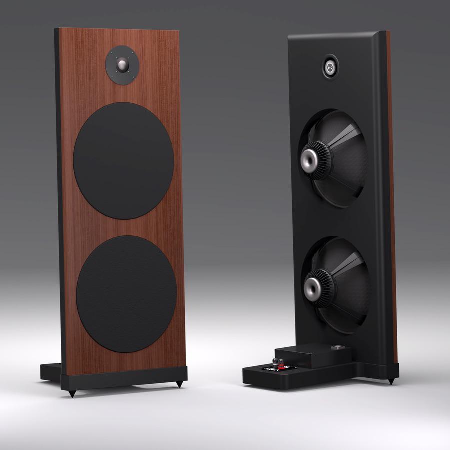 Spatial Audio M3 Sapphire open-baffle speakers