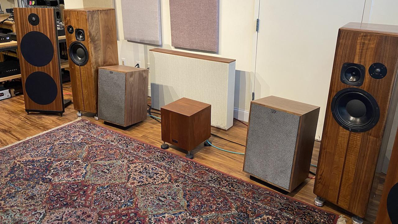 Listening Test Room at Linear Tube Audio Headquarters