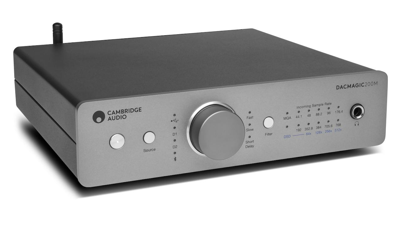Cambridge Audio DacMagic 200m DAC Headphone Amplifier Front Angle