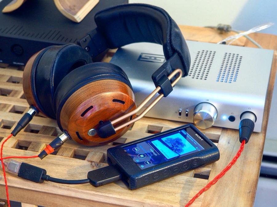 Sony WM1A DAP, Schiit Audio Jotunheim DAC/Amp and ZMF Ori semi-open, planar magnetic headphones