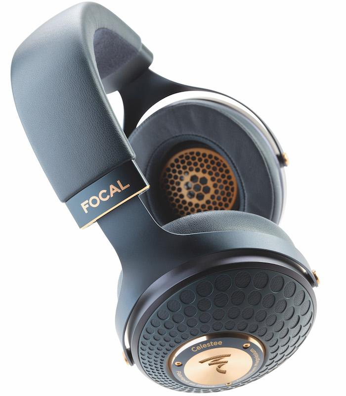 Focal Celestee Headphones in Navy Blue and Copper