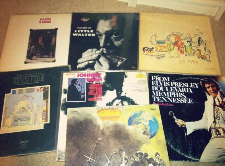 record_lady first haul of records