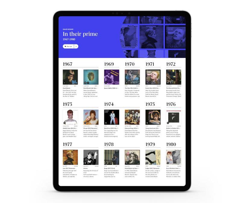 Roon 1.8 on iPad