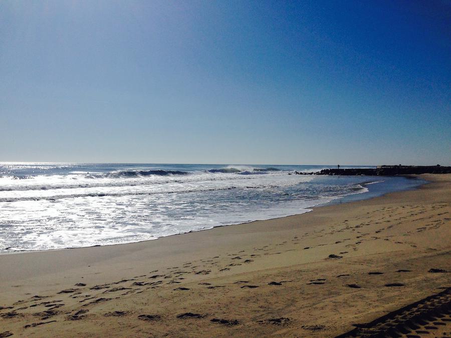 Jersey Shore Ocean Waves