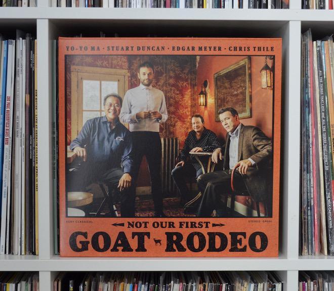 Stuart Duncan, Yo-Yo Ma, Edgar Meyer, and Chris Thile - Not Our First Goat Rodeo Album