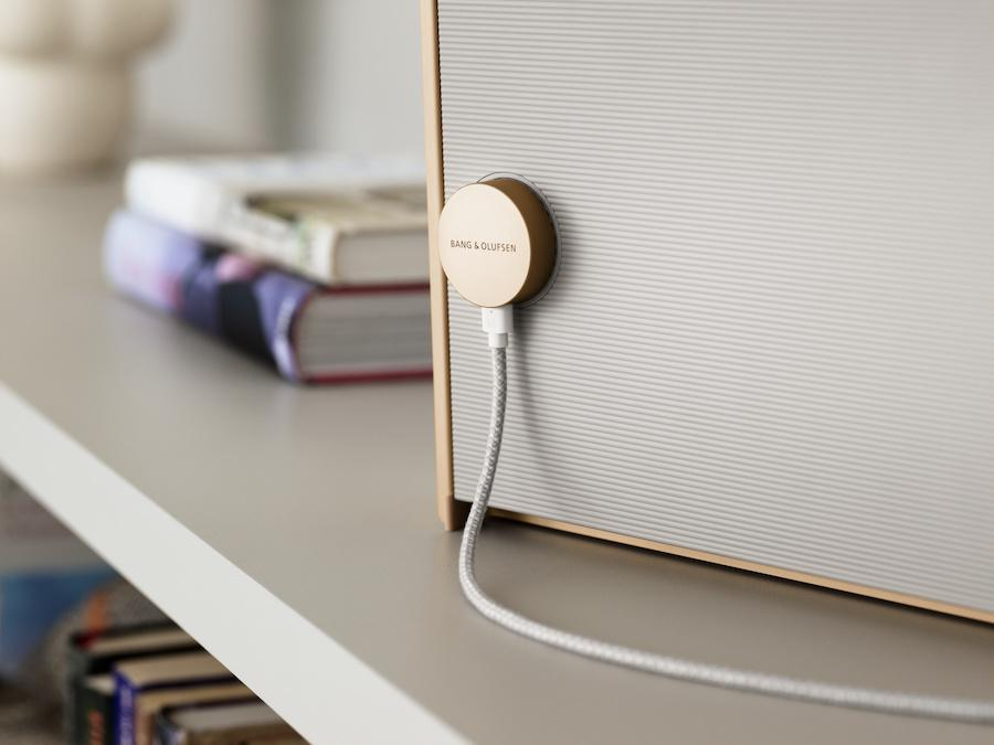 Bang & Olufsen Beosound Level Wireless Speaker Magnetic Charging Rear