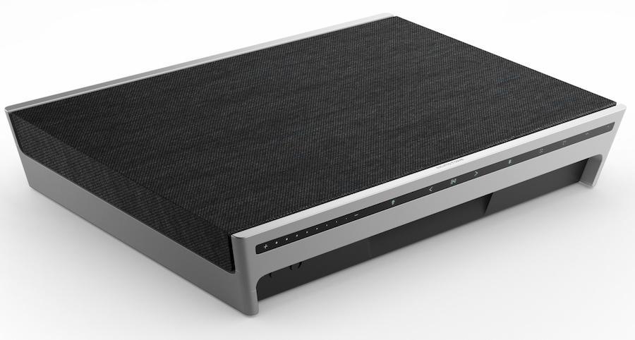 Bang & Olufsen Beosound Level Wireless Speaker Flat in Black and Aluminum
