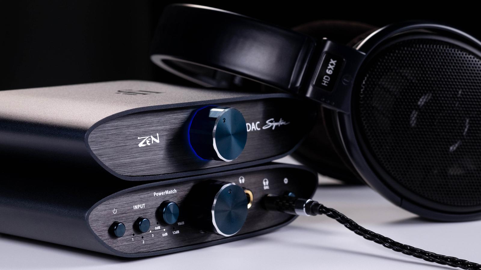 iFi ZEN CAN DAC Signature bundle with Sennheiser HD-6XX Headphones