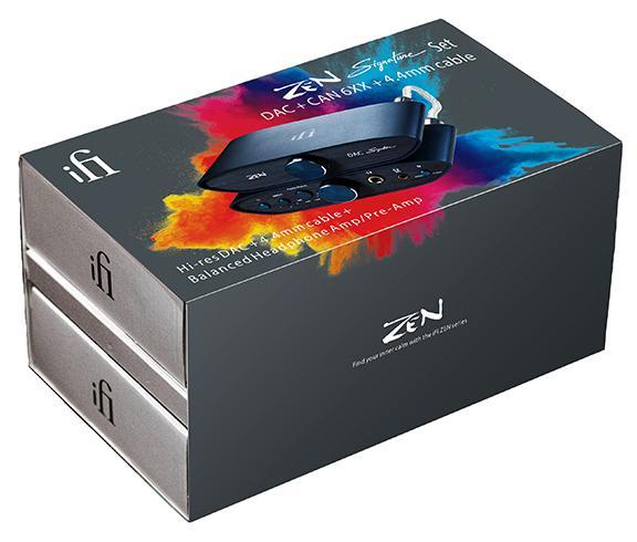 iFi ZEN CAN DAC Signature 6XX bundle in package