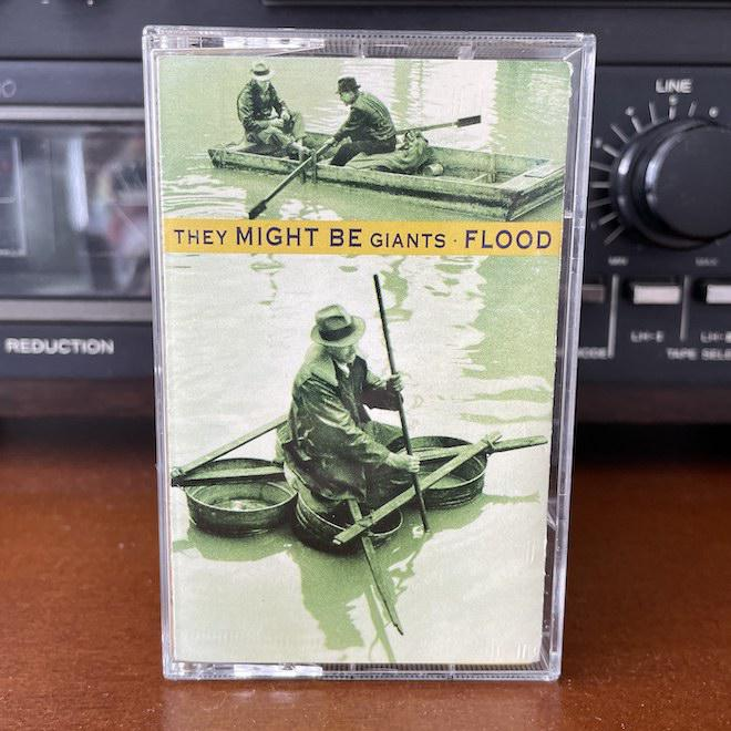They Might Be Giants Flood on cassette