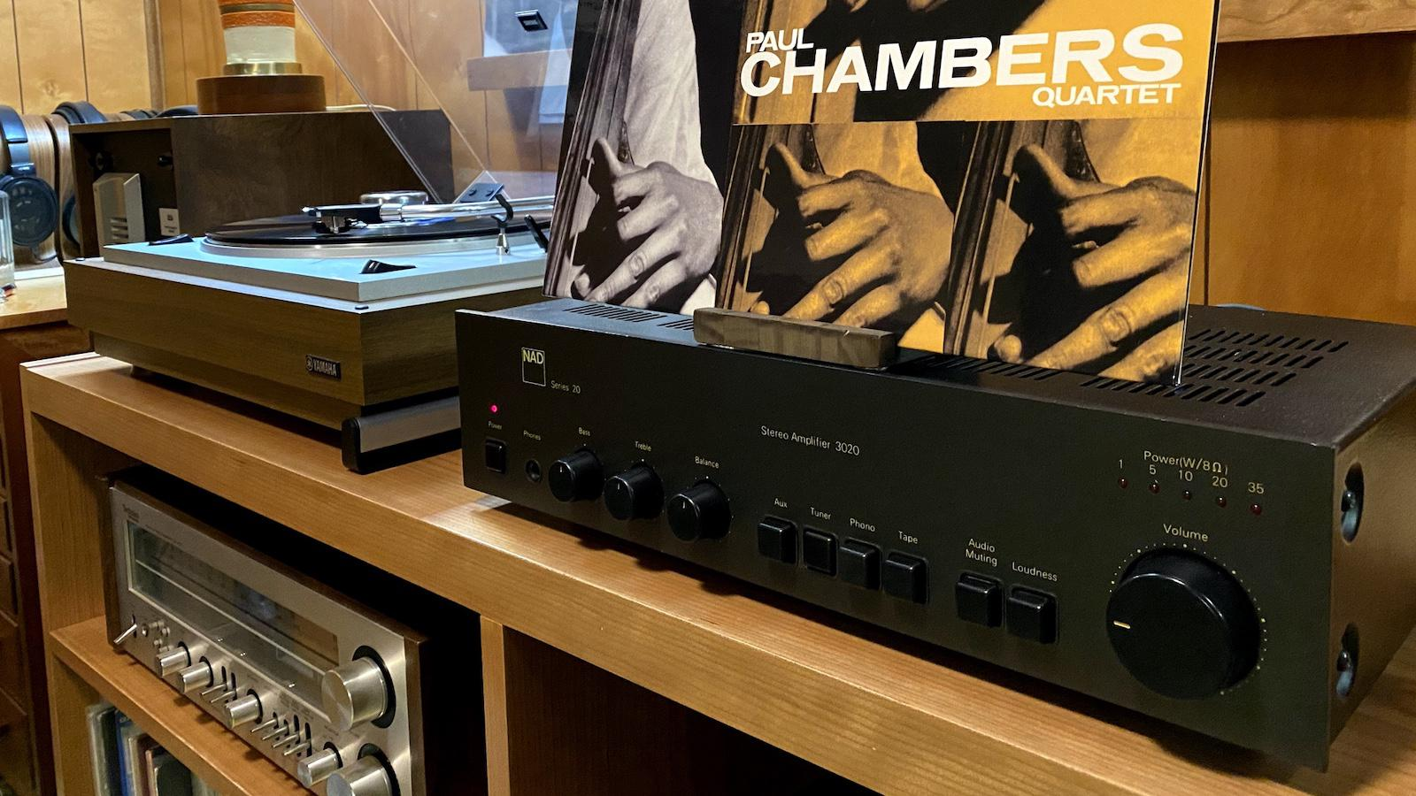 Eric Pye Hi-Fi Stereo System playing Paul Chambers Quartet