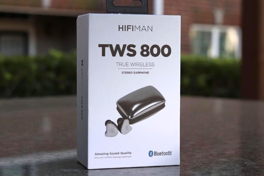 HiFiMAN TWS800 True Wireless Strereo Earphone Package