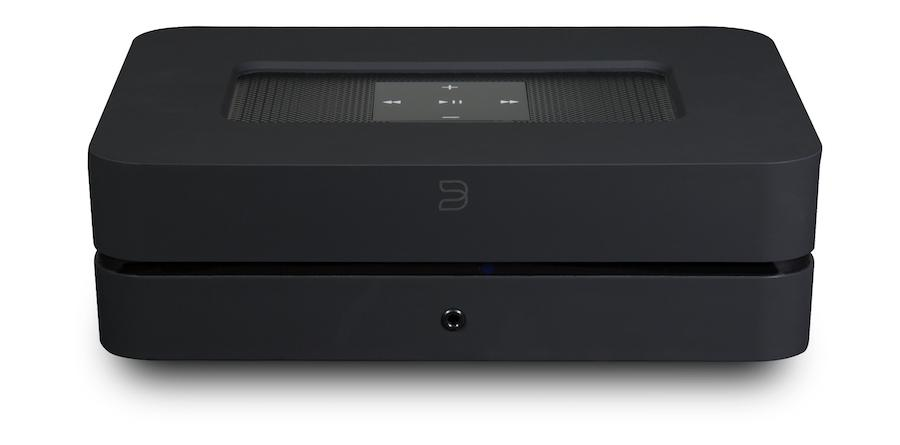 Bluesound Powernode 2i Streamer in Black Front View