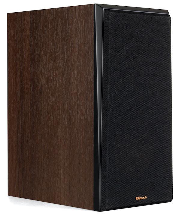 Klipsch RP-600M Bookshelf Loudspeaker in walnut with grille