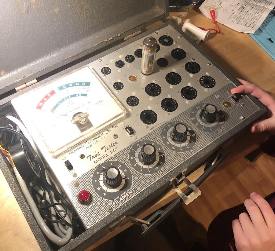 Tube Tester model 257