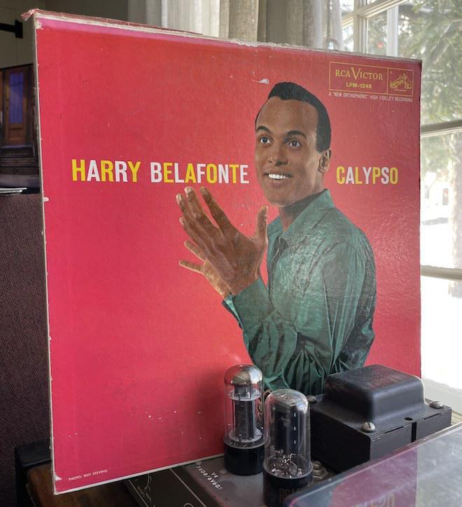 Harry Belafonte - Calypso (LPM-1248, 33 rpm)