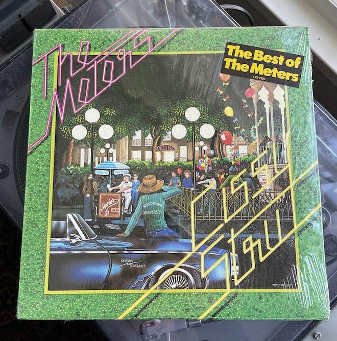 The Meters - Cissy Strut (ILPS 9250, 33 rpm)