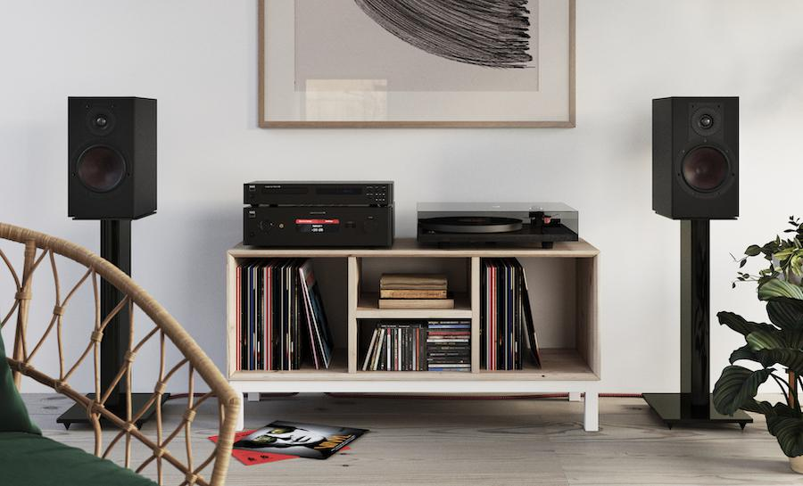 DALI Opticon 2 MK2 Loudspeakers on Stands Lifestyle