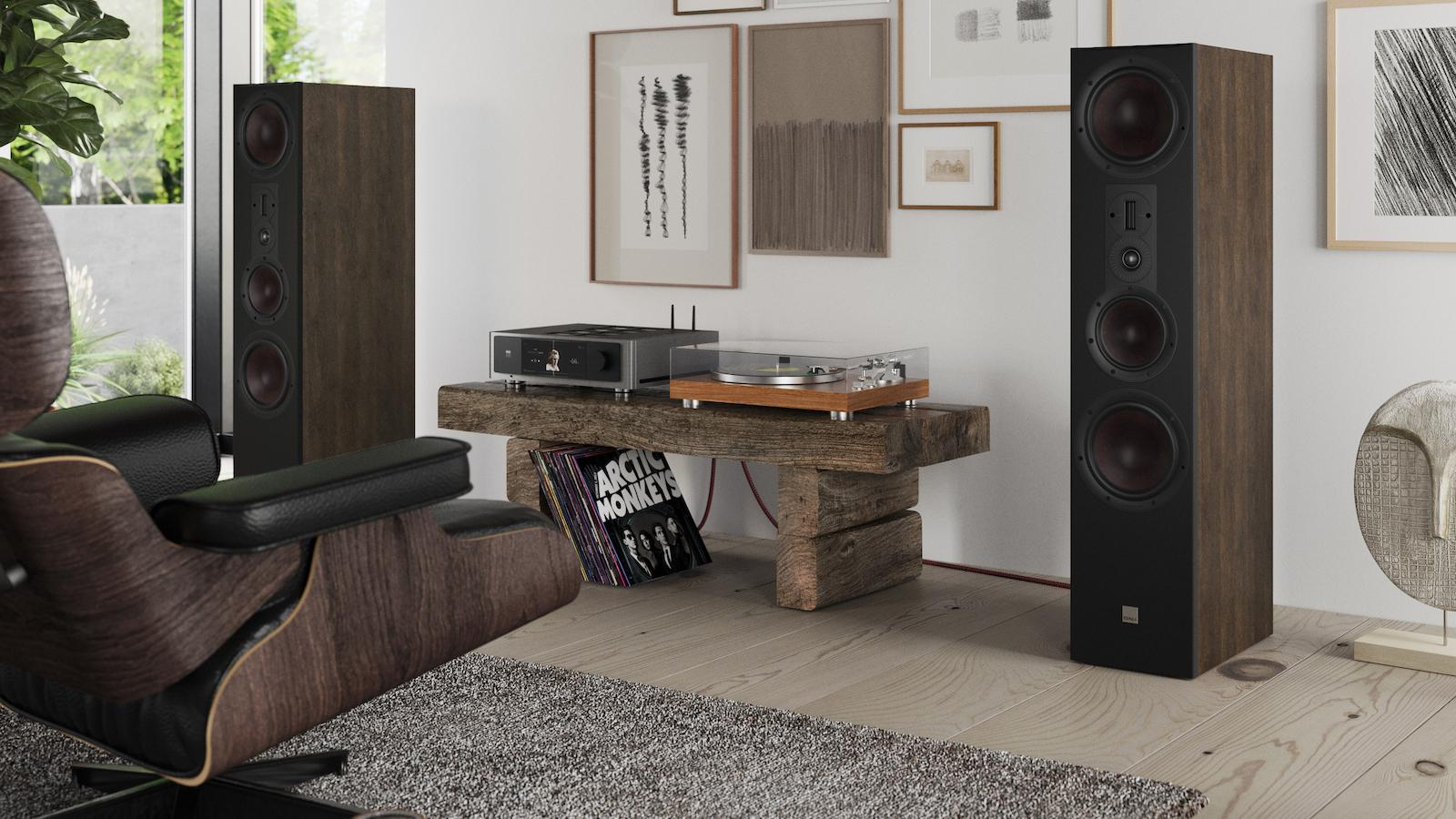 DALI Opticon 8 MK2 Floorstanding Loudspeakers Lifestyle