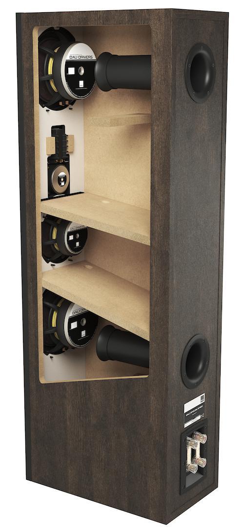 DALI Opticon 8 MK2 Floorstanding Loudspeakers Cut-through