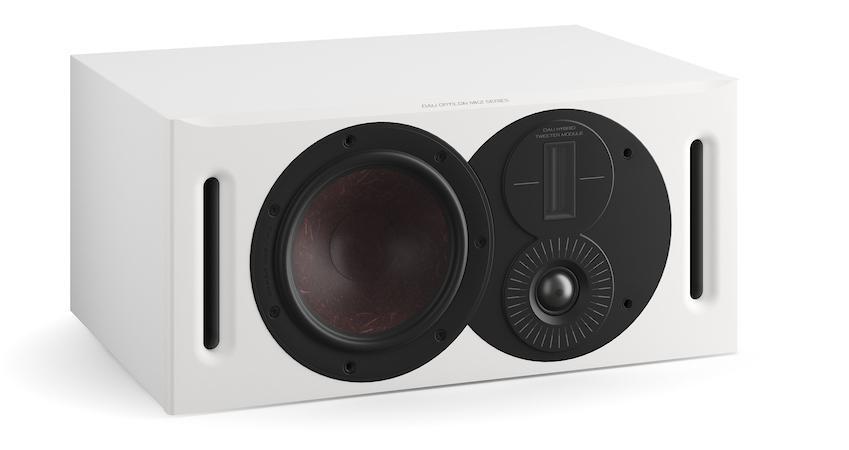 DALI Opticon Vokal MK2 Satin White Center Channel Speaker