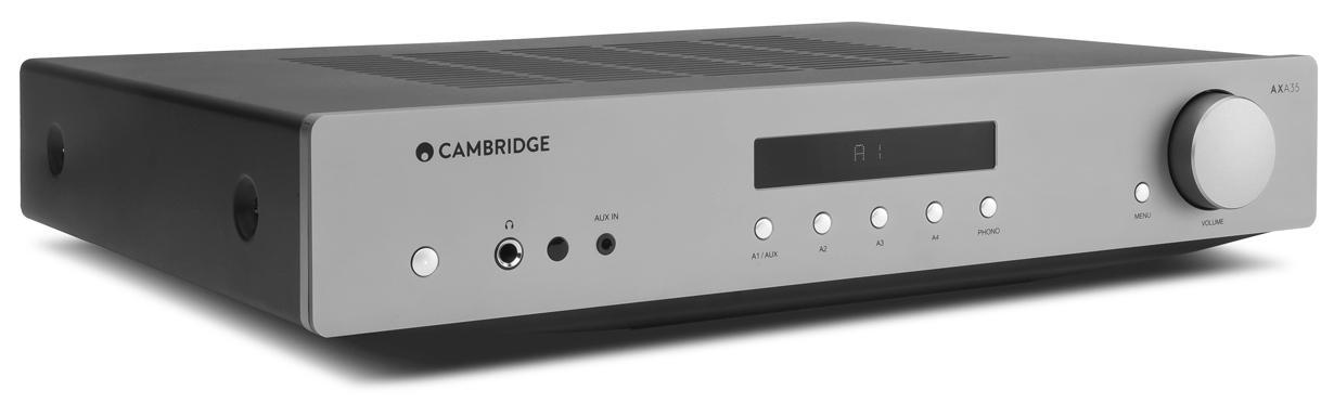 Cambridge Audio AXA35 Integrated Amplifier Angle Low