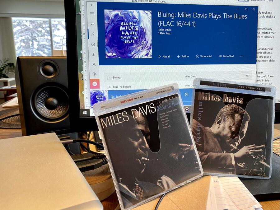 First Miles: Starting with Bluing, Jazz Showcase, and of course, Kind Of Blue.