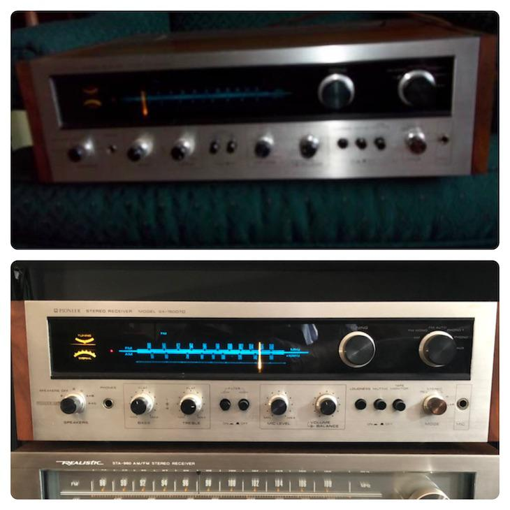 Pioneer Stereo Receiver SX-1500TD