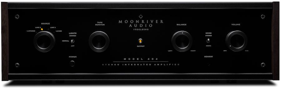 Moonriver 404 Stereo Integrated Amplifier Front