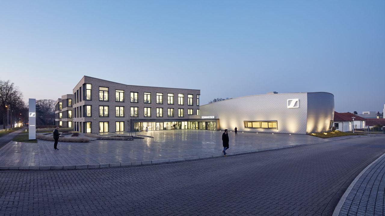 Sennheiser Headquarters in Wedemark, Germany