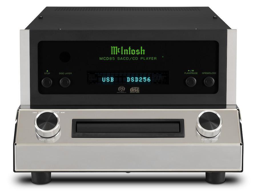 McIntosh MCD85 SACD/CD Player Front