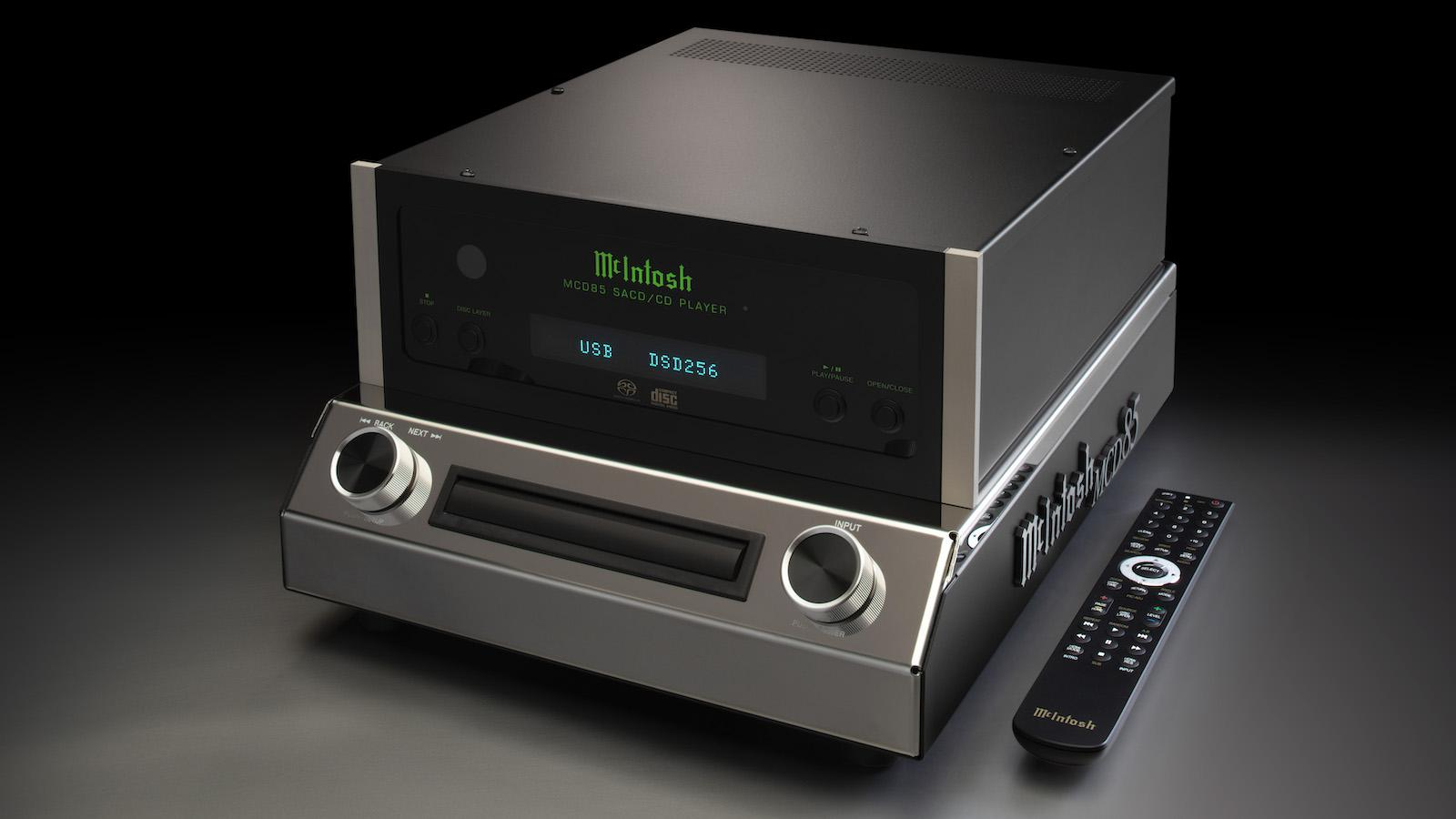 McIntosh MCD85 SACD/CD Player with Remote Control