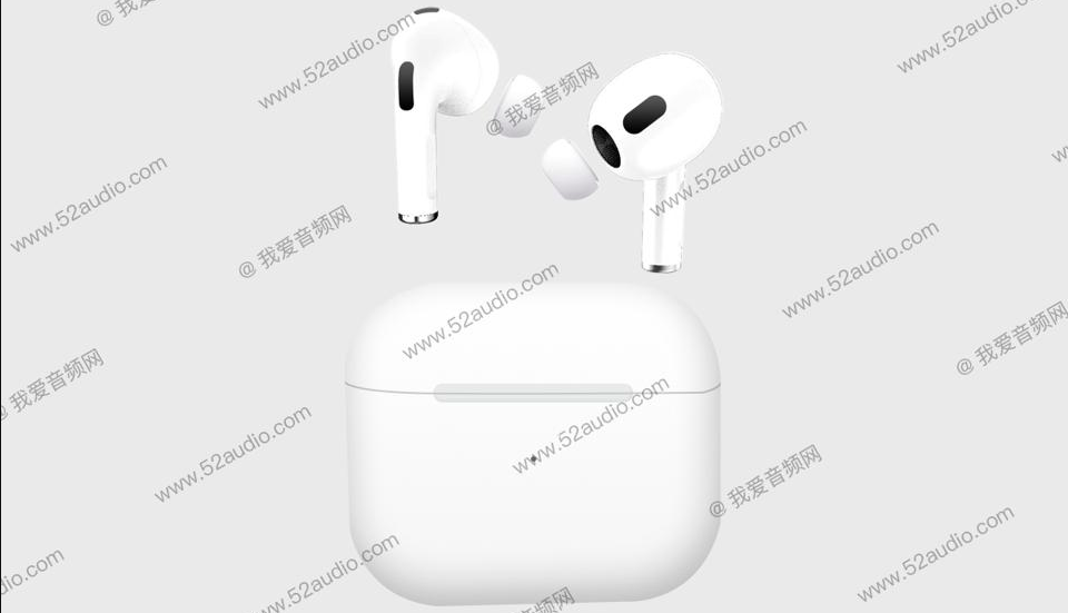 AirPods 3 rumor from 52audio.com