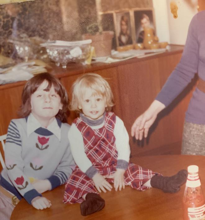 1977, The Remote Zombie and his little brother, Toronto