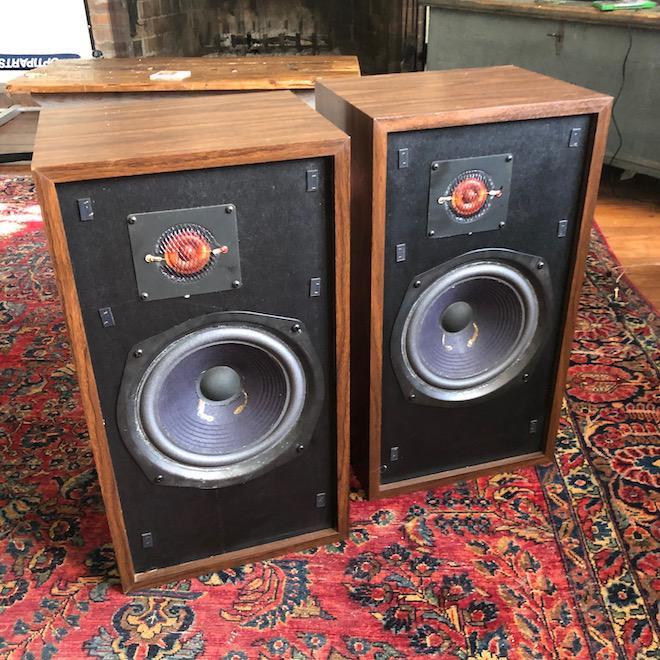 Large Advent Loudspeakers