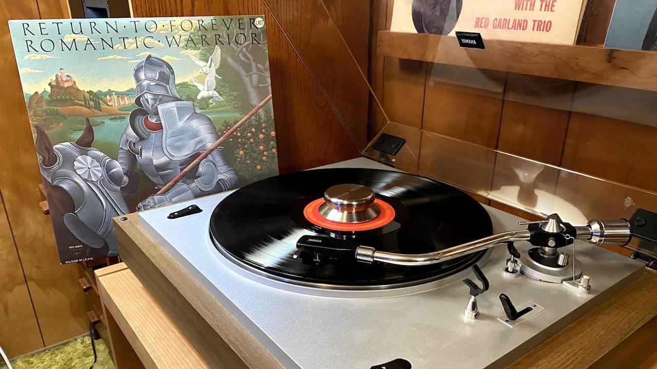 Return to forever Album playing on record player