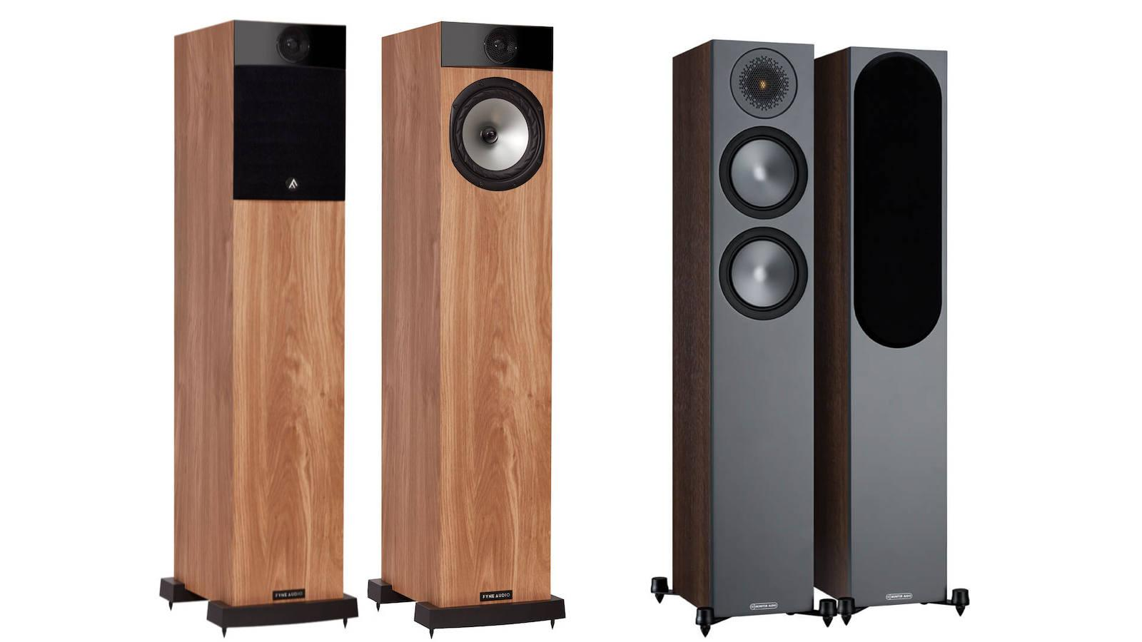Fyne Audio F302 vs. Monitor Audio Bronze 200 Loudspeakers